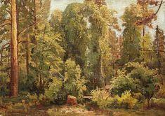 In the forest  - Ivan Shishkin