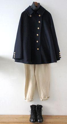 Lisette   リゼッタ ローブコート パンツ coat wool linen marin