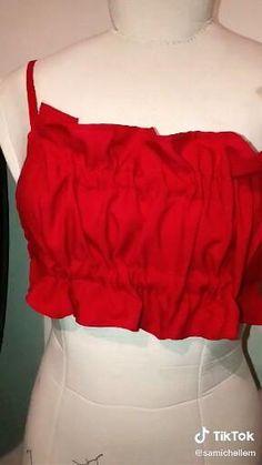 Diy Fashion Dresses, Diy Fashion Hacks, Fashion Sewing, Fashion Outfits, Dress Sewing Patterns, Clothing Patterns, Diy Clothes Design, Clothing Hacks, Diy Dress