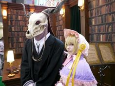 A magus bride cosplay I think my life is complete Anime Cosplay, Cosplay Diy, Cosplay Outfits, Halloween Cosplay, Best Cosplay, Cosplay Girls, Halloween Costumes, 2017 Cosplay, Elias Ainsworth