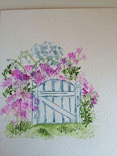 Watercolor Sunday.