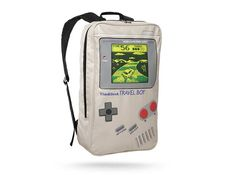 Que tal uma mochila inspirada no Game Boy?