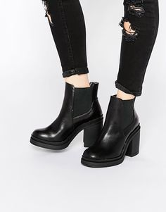 New+Look+Chunky+Heeled+Boot