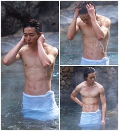 Sexy Asian Men, Cute Asian Guys, Sexy Men, Korean Star, Korean Men, Asian Actors, Korean Actors, Yoona Ji Chang Wook, Taehyung Abs