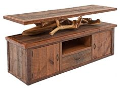 Beau Our Rustic Log Barn Wood Entertainment Cabinet Starts With Reclaimed, 100  To 150 Year Old