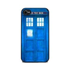 Amazon.com: TARDIS Blue Police Call Box - iPhone 4 or 4s Cover, Cell Phone Case: Cell Phones & Accessories
