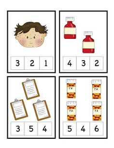 doctor song for preschool creative curriculum center labels rotation cards student 690