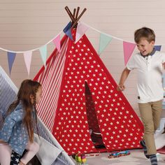 Red Star Wigwam - Play Tents & Wigwams - Toys & Gifts