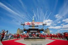 IN PHOTOS: How Canada Day 2019 was celebrated from coast to coast John Tory, Centennial Park, Patriotic Outfit, Woman Smile, Canada Day, Cn Tower, Ontario, Coast, Celebrities