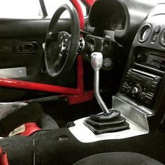 @miata96drb's custom shifter (old sway bar) | #TopMiata #mazda #miata #mx5 #eunos #roadster