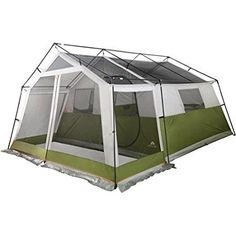 Ozark Trail Family Cabin Tent With Screen Porch Image 2 Of