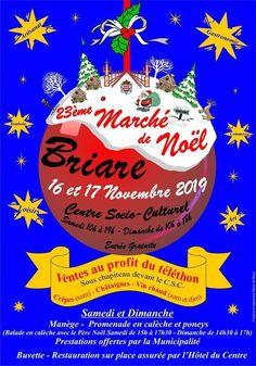 Marché de Noël de Briare 10h-19h et 10h -18h Centre socio-culturel, Briare (45)