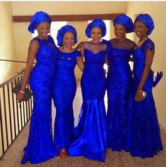 My favorite color #naijatings #asoebi #bellanaija #wedding