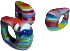 Sobral by Jackie Brazil Liquorice All Sorts Grande Ring