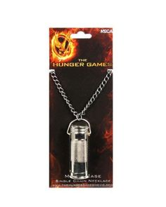 Die Tribute von Panem Halskette Single Chain Match Case - Katniss Peeta