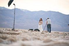 The anatomy of a desert maternity shoot by Michael Kormos