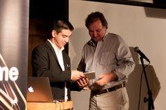 Luiz Silveira, Gerente de Marketing da EPYX Soluções Editoriais, e Georges Schnyder, Presidente da Editora 4 Capas. Foto: Patrícia Bruni.