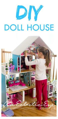 Diy Barbie dollhouse
