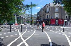 Aurélien Bory redessine un espace public sur l'île de Nantes