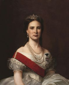 Charlotte of Belgium, Empress of Mexico.Source
