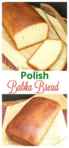 Polish Babka Bread {Celebrating Our Heritage Series} - Family Table Treasures Polish Desserts, Polish Recipes, Bread Recipes, Cooking Recipes, Easy Recipes, Healthy Recipes, All You Need Is, Dessert Bread, Bread Rolls
