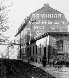 L'usine Dominion Corset (avant Chute Montmorency, Chateau Frontenac, Le Petit Champlain, Montreal Ville, Canada, Quebec City, Photos Du, Vintage Photography, Historical Photos