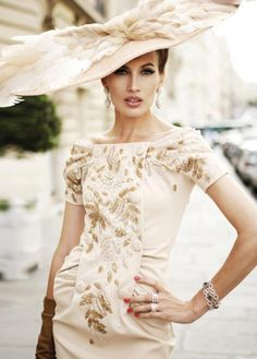 Fashion on the Australian Racecourse  Stephen Jones for Dior