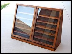 Image result for timber display cabinets diy