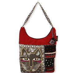 Shop where every purchase helps shelter pets! Laurel Burch Whiskered Cat Medium Scoop Tote - from $25.00