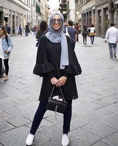Street style hijabi
