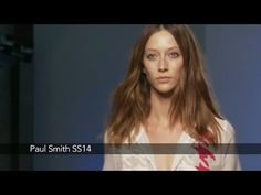 Watch the Paul Smith catwalk show for spring/summer 2014 at London Fashion Week