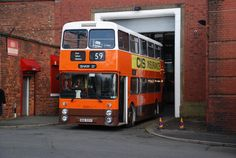 Leyland Atlantean / Northern Counties Manchester Museum of Transport, Cheetham, Manchester. Manchester Buses, Manchester Street, Manchester United, Transport Museum, Subway Map, Double Decker Bus, Busses, Derbyshire, Coaches