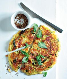 Cuketová mánie Ricotta, Vegetable Pizza, Quiche, Brunch, Vegetables, Breakfast, Morning Coffee, Quiches, Vegetable Recipes