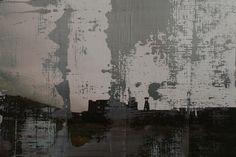 Koen Lybaert - Beringen Mine 5 [Overpainted Photograph N°067] - oil on photograph [20 x 30] / 2013 - [Beringen, Belgium] - [price 160 euro, shipment included]