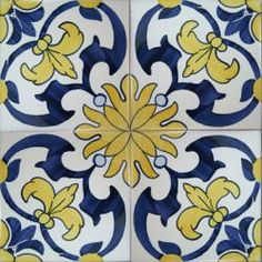 Spanish Decorative Tiles | wall floor ceramic tile azulejo lambrim repetitive patterns tile ...