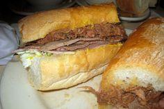 New Orleans - CBD: Mother's Restaurant - Famous Ferdi Special