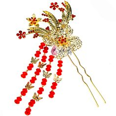 Free shipping! 2013 phoenix vintage bridal hair pins for wedding Chinese Fashion hair accessories TH083-inHair Jewelry from Jewelry on Aliexpress.com $8.85