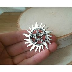 supernatural bag clip (15 BRL) ❤ liked on Polyvore featuring accessories