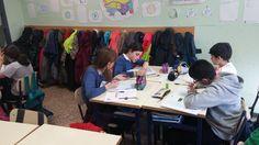 Marista castilla @CastillaMarista 11 hHace 11 horas Trabajamos con gemelos pensantes la resolución de problemas en 6° #compostelaenruta #palenciaenruta