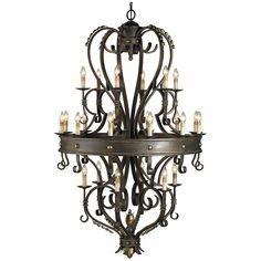 Currey and Company Colossus Chandelier 9631