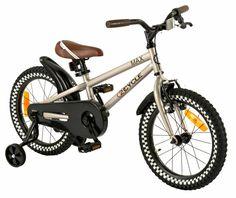 Stoere 16 inch jongensfiets van 2Cycle MAX voor 21:00 uur besteld de volgende dag in huis.