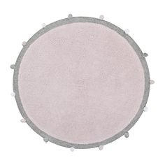 Lorena Canals Bubbly Soft Pink Vloerkleed Ø 120 cm Lorena Canals Teppich, Lorena Canals Rugs, Color Rosa Claro, Machine Washable Rugs, Tapis Design, Little Monkeys, Pink Rug, Round Rugs, Project Nursery