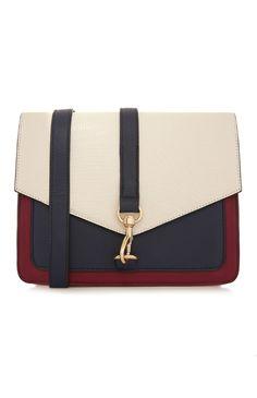 Primark - Navy Cream Colour Block Bag