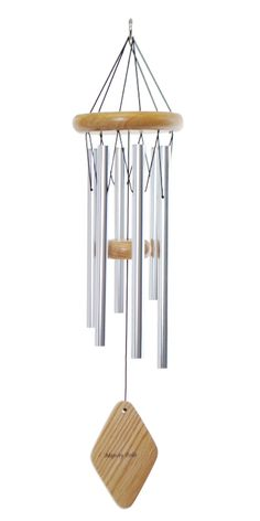 "This 24"" Majesty Bells chime will produce gentle tones to please its listeners year round.  A great gift, it will be the perfect accent piece for your loved one's living space, and every breeze will make them smile."