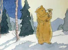 "Barbara loved illustrating natural history and spent many of her 84 years illustrating one animal in particular. She said, ""It was a joy to be able to draw pages and pages of bears."""