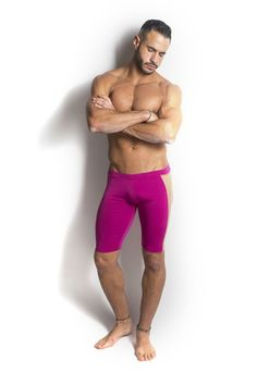 Real Men Wear Tights With Sheer Sides. HoT Sexy Men's Undergear. Check Our Site For More: www.egick.com