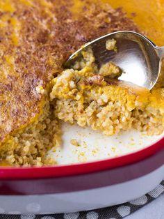Pumpkin Pie Baked Steel Cut Oatmeal | www.kiwiandbean.com