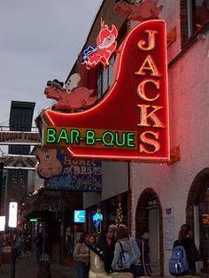 Jacks Bar-B-Que in Nashville, Tennessee