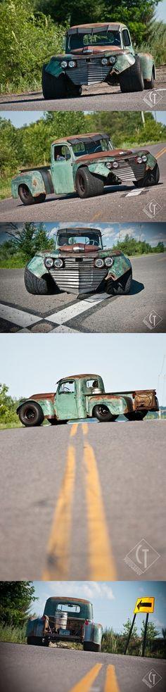 Destructor - a serious Rat Rod! Cool Trucks, Big Trucks, Chevy Trucks, Pickup Trucks, Cool Cars, Custom Trucks, Custom Cars, Classic Trucks, Classic Cars