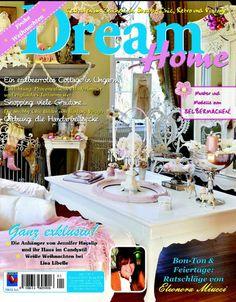 Sulla rivista tedesca Dream Home - Bon Ton & Fiertage Ratschläge von Eleonora Miucci